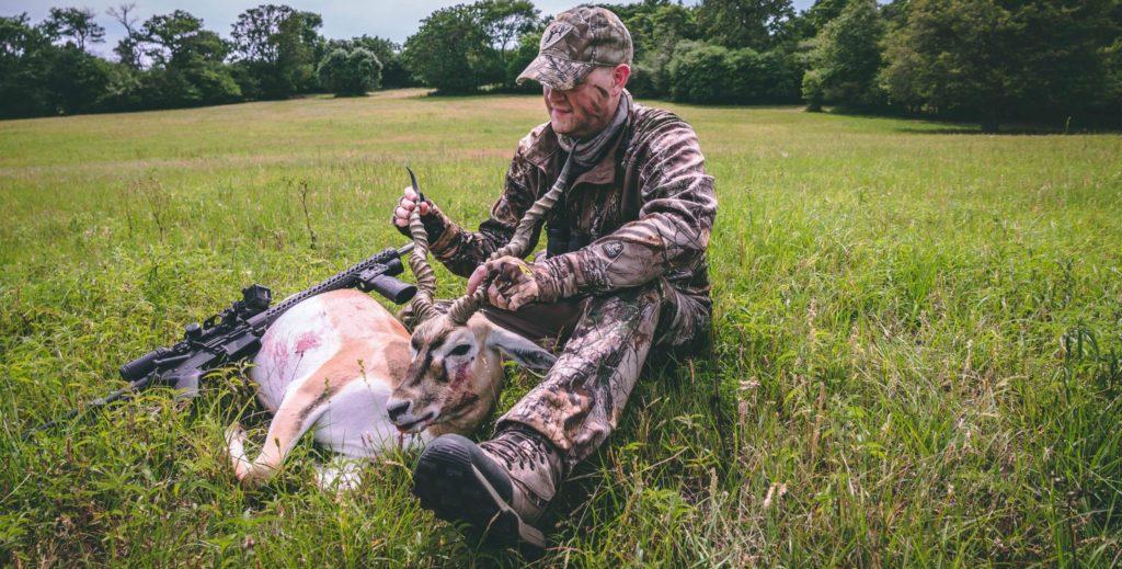 whitetail frenzy hunt shot blackbuck