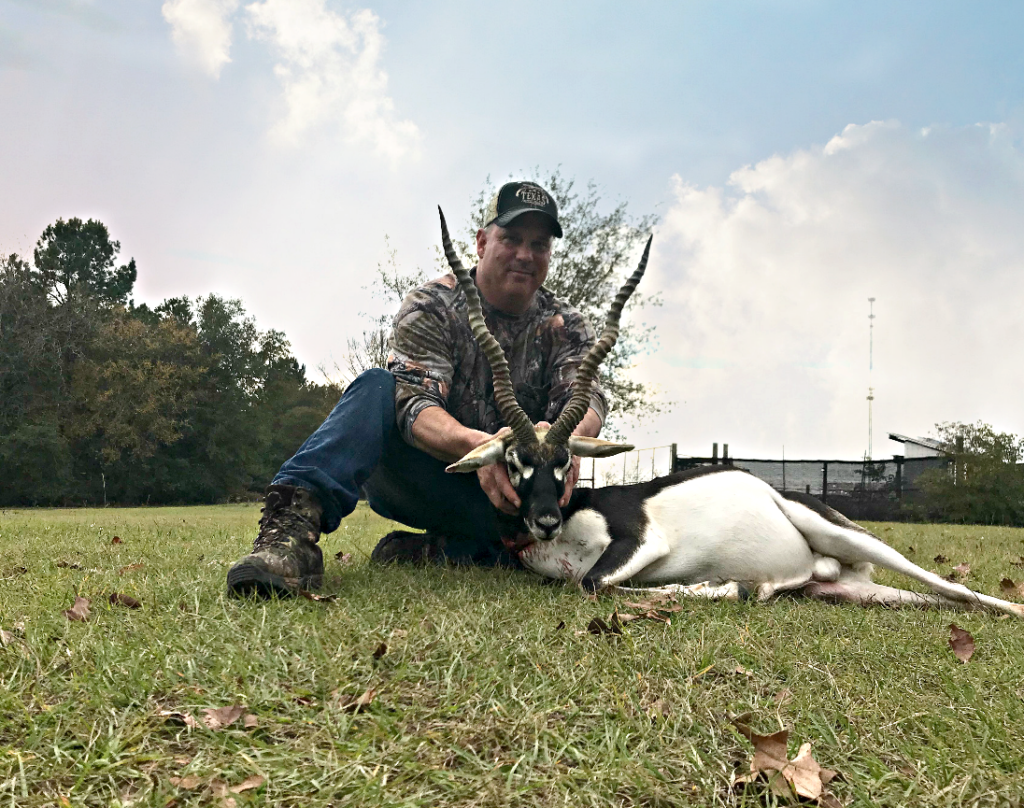 Black buck trophy hunt
