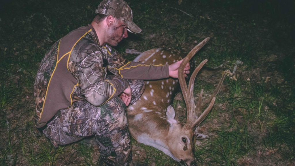 Special Guest Kenny from Whitetail Frenzy joins us as he takes down his first Axis!